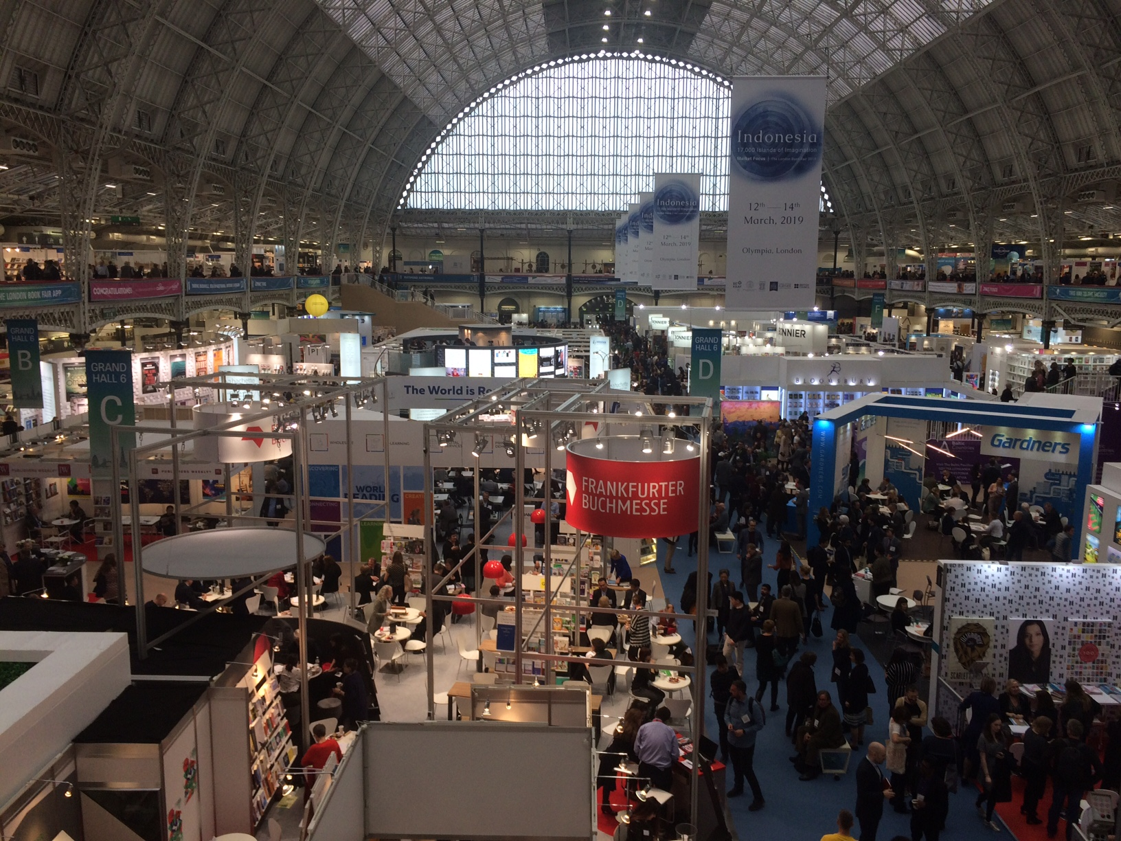 First London Book Fair 2019